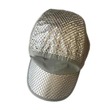 Qingjinsd Gorras de Protección Solar Sombrero De Sol De Pesca De ...