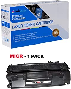 Inksters Compatible Toner Cartridge Replacement for HP 05A CE505A Black MICR - Compatible with Laserjet P2035 P2035DN P2055 P2055D P2055DN P2055X