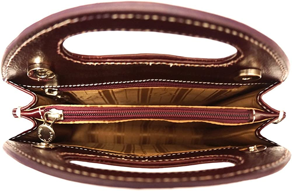 Semi Oval Bag with Built-in Handle 6881