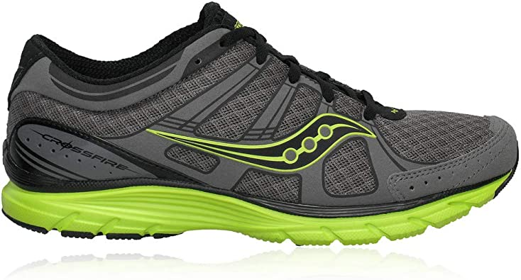 SAUCONY Grid Crossfire Zapatilla de Running Caballero, Gris/Verde, 44.5: Amazon.es: Zapatos y complementos