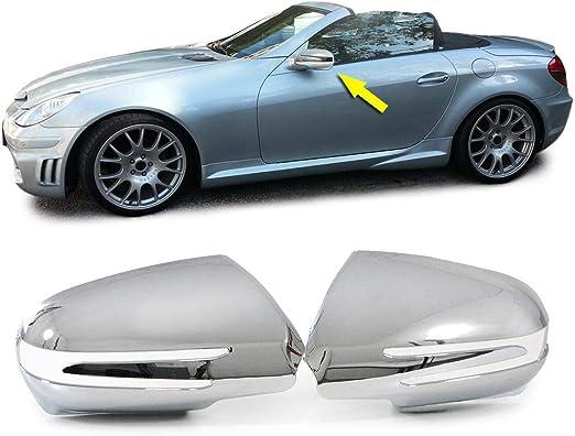 Carparts Online 27983 Aussen Spiegel Kappen Abdeckungen Cover Chrom Auto
