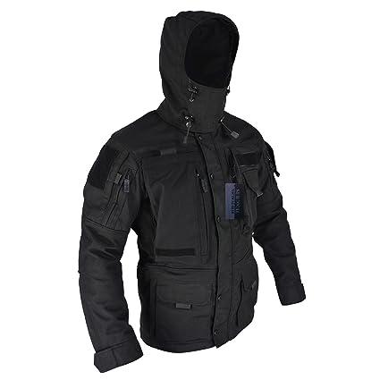 amazon com survival tactical gear army tactical jacket multi pocket