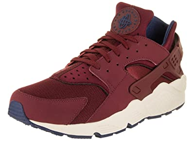 separation shoes 2fe4b 8ae2d Nike Men s Air Huarache Team Red Team Red Navy Sail Running Shoe 8 Men US
