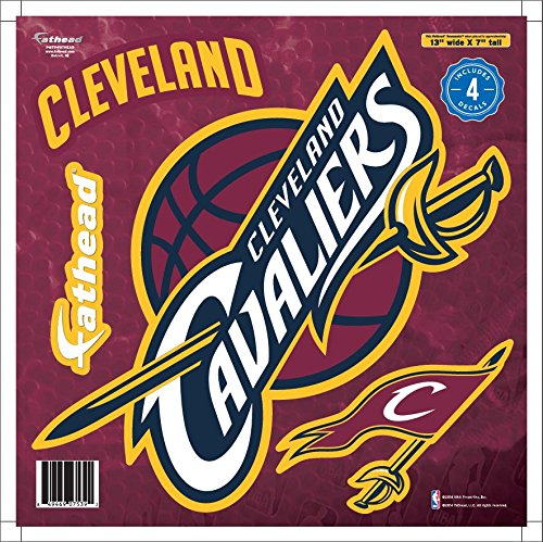 NBA Cleveland Cavaliers Logo Fathead Decal, Large