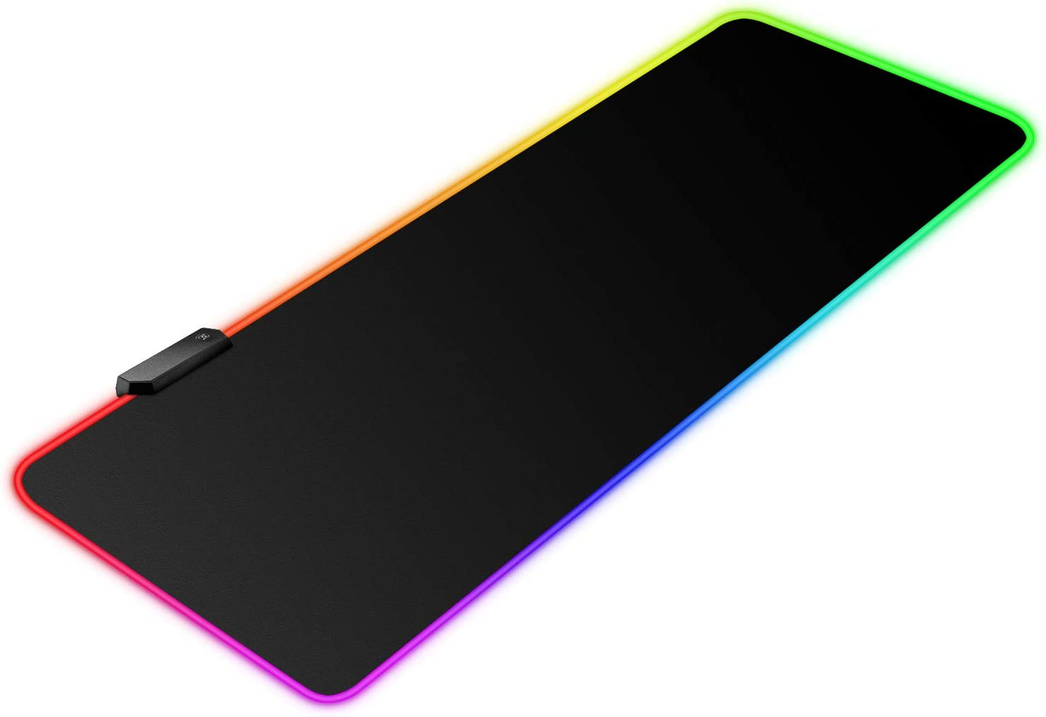 "BZseed RGB Gaming Mouse Pad X Large, Extended LED Mouse Pad 30% Larger Size(31.5""×11.8""), Anti-Slip Base Computer Keyboard Mouse Mat for Gaming Computer/Laptops/Office Desk"