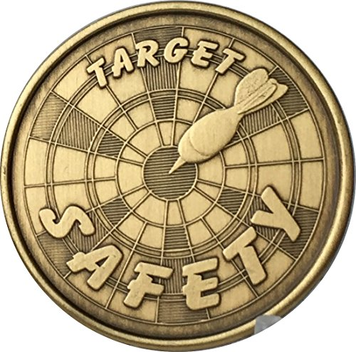 (Target Safety TEAM Bronze Medallion Challenge Token Together Everyone Achieves More)