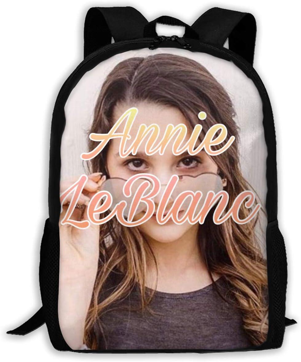 an/_Nie Leblanc Logo/_2 Backpack Shoulder Bag Travel Bags Laptop Bag School Bag for Boys Girls