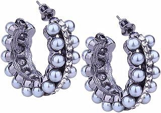 XQY Stud Earrings, Earrings, Women'S Ear Jewelry, Tassel Earrings, Creative Personality Earrings, Simple Earrings, Fashion Earrings, Stainless Steel Hypoallergenic Earrings