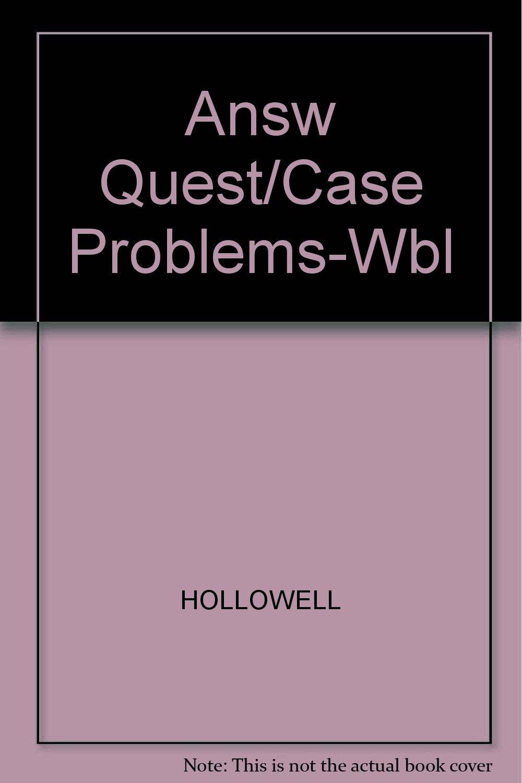 Answ Quest/Case Problems-Wbl