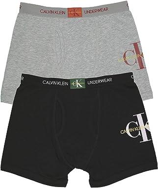 b9ff5d9c5 Calvin Klein Boy's Kids Modern Cotton Assorted Boxer Briefs Underwear,  Multipack