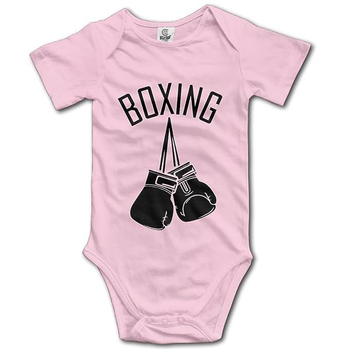 Amazon.com: rainbowhug boxeo Unisex pijama para bebé recién ...