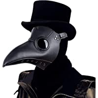 Lubber Plague Doctor Bird Mask Gothic Cosplay Retro Steampunk Props for Halloween