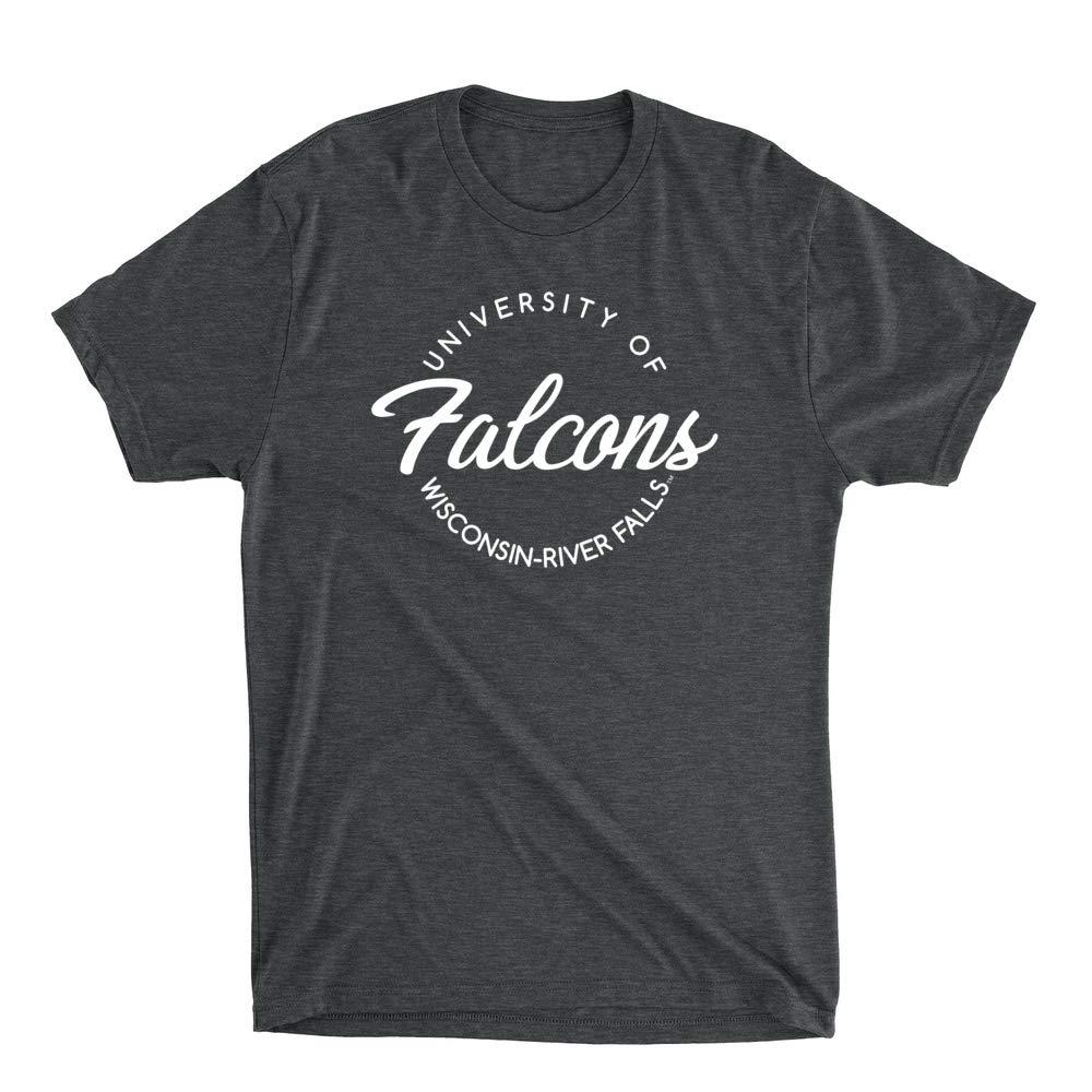 RYLWRU04 Mens//Womens Premium Triblend T-Shirt Official NCAA U of Wisconsin-River Falls