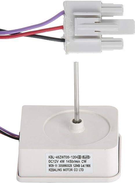 Masterpart Motor de ventilador evaporador para frigorífico y ...