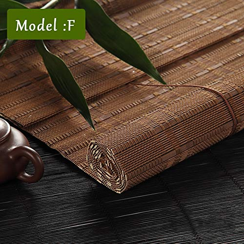 TLMY Roller Blinds 70% Lightweight Filter Shades Wide Home Hotel Club Restaurant Bamboo Roller Blind (Size : 70x220) from TLMY