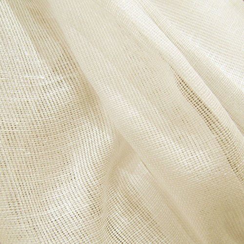 60 Yards Natural Unbleached Tobacco Cloth Natural Cotton Fabric Lightweight for Wedding Decor by JCS by JCS (Image #6)