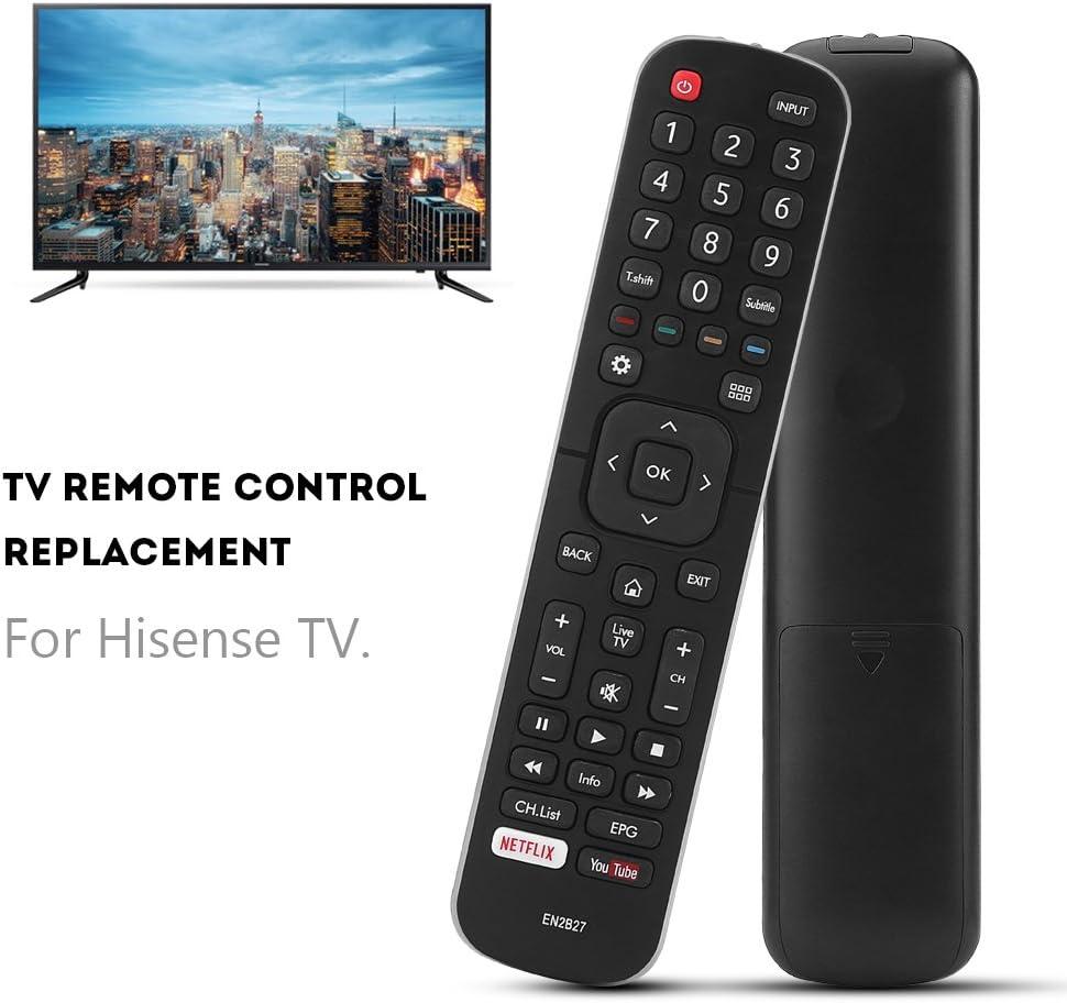 Zerone T/él/écommande Universelle En2b27/pour Hisense TV t/él/écommande de Remplacement pour Hisense 40/K321uw 58/K700uwd 65/K720uwg Smart TV