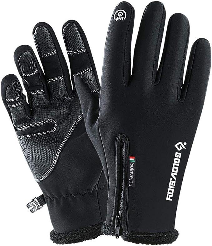 Men Women Winter Outdoor Warm Gloves Waterproof Touch Screen Sports Windproof