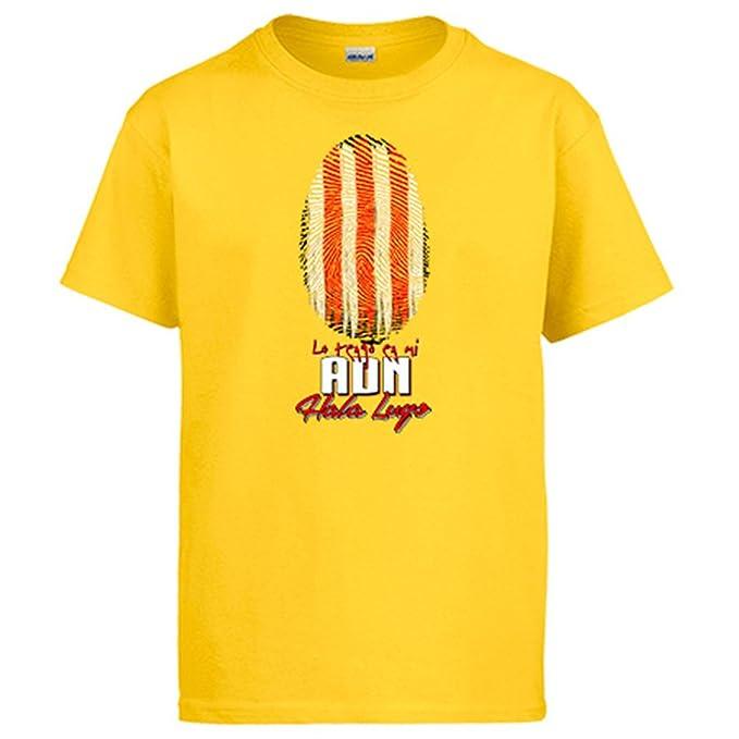 Diver Camisetas Camiseta lo Tengo en mi ADN Lugo fútbol: Amazon.es: Ropa y accesorios