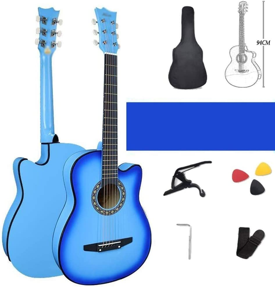 Guitarra acústica Guitarra acústica de 38 pulgadas Guitarra ...
