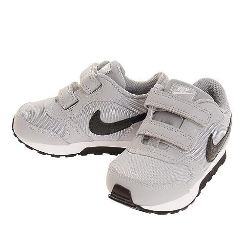 Nike Zapatilla Niã±Os 806255 MD Runner Gris Negro 19 5  Amazon.es  Zapatos  y complementos 629845f58313c