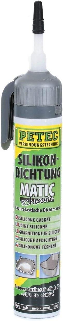 Petec 97720 Hochtemperatur Silikondichtung Matic Schwarz 0 2 Liter Baumarkt
