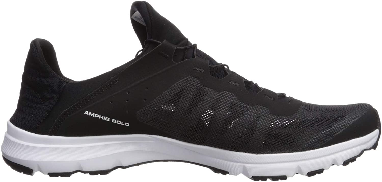 Salomon Amphib Bold White White Black zapatillas blanco negro