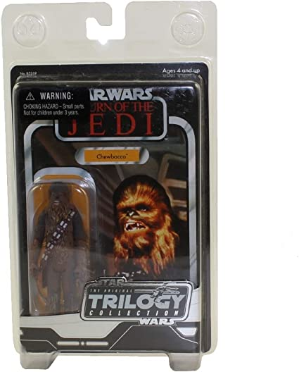 Amazon Com Star Wars Original Trilogy Collection Chewbacca Action Figure Toys Games