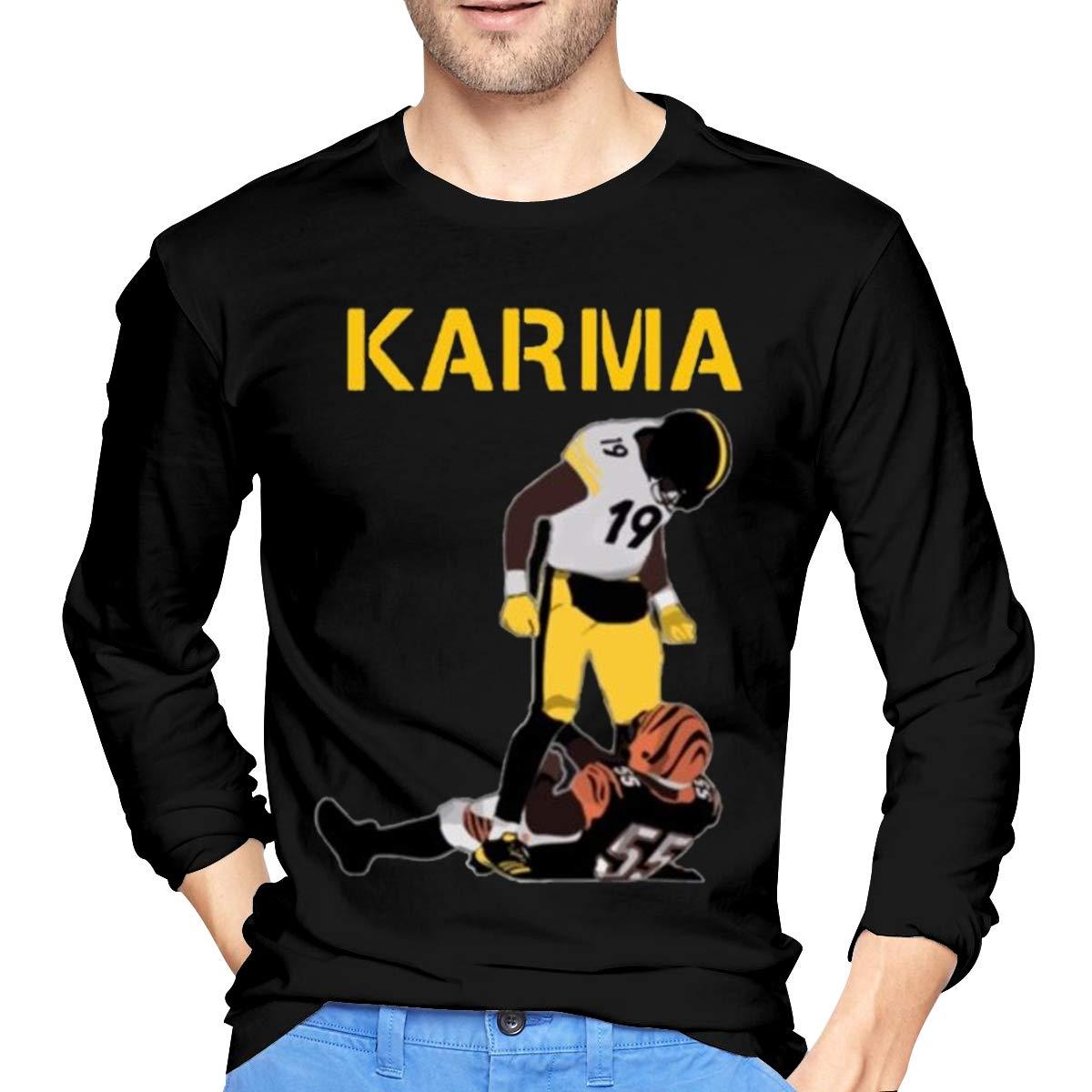 uk availability 2cfce 7b39b Amazon.com: Steelers Karma Juju Smith-Schuster Vontaze ...