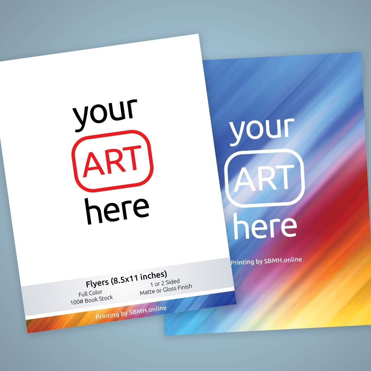 Flyer Printing -You supply the art and we'll print it for you! (500)