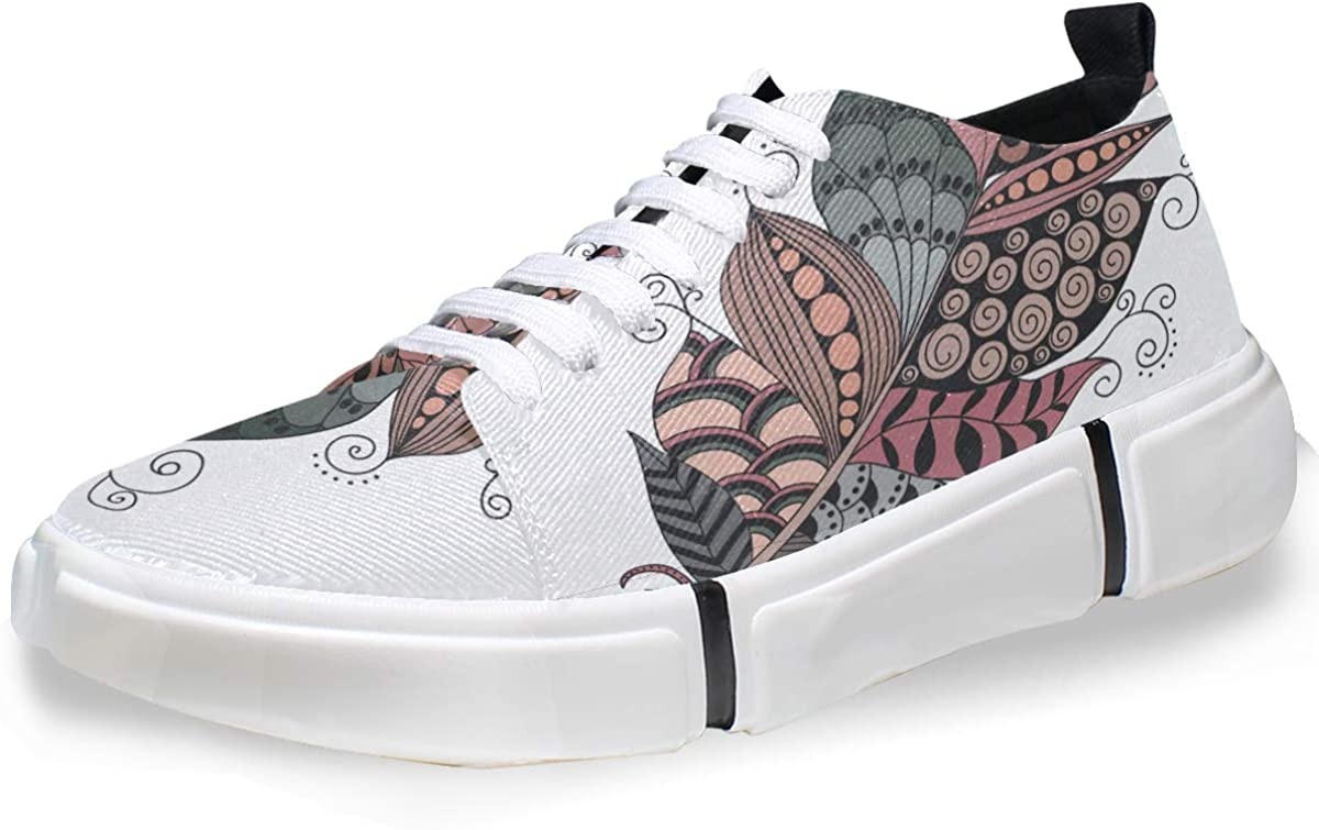 DEZIRO Particular Drawing Feather - Zapatillas de Deporte ...