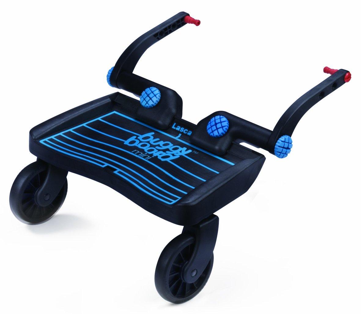 Lascal 2890 Buggy Board Mini, Thermoplastic Elastomer, schwarz/blau LNMB-BL