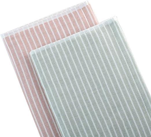DWW Textiles para el hogar Toalla Gasa algodón Doble Cara 2 Toalla ...