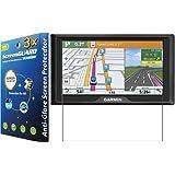 3x Garmin Drive 60 60LM 60LMT GPS Premium Anti-Glare Anti-Fingerprint Matte LCD Screen Protector Cover Guard Shield Protective Film Kits (No Cutting, Package by GUARMOR)