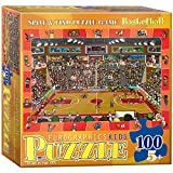 Basketball - Spot and Find Puzzle, 100-Piece