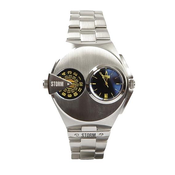 Storm London DUALMATIC 47247/B Reloj de Pulsera para hombres Segundo Huso Horario: Amazon.es: Relojes