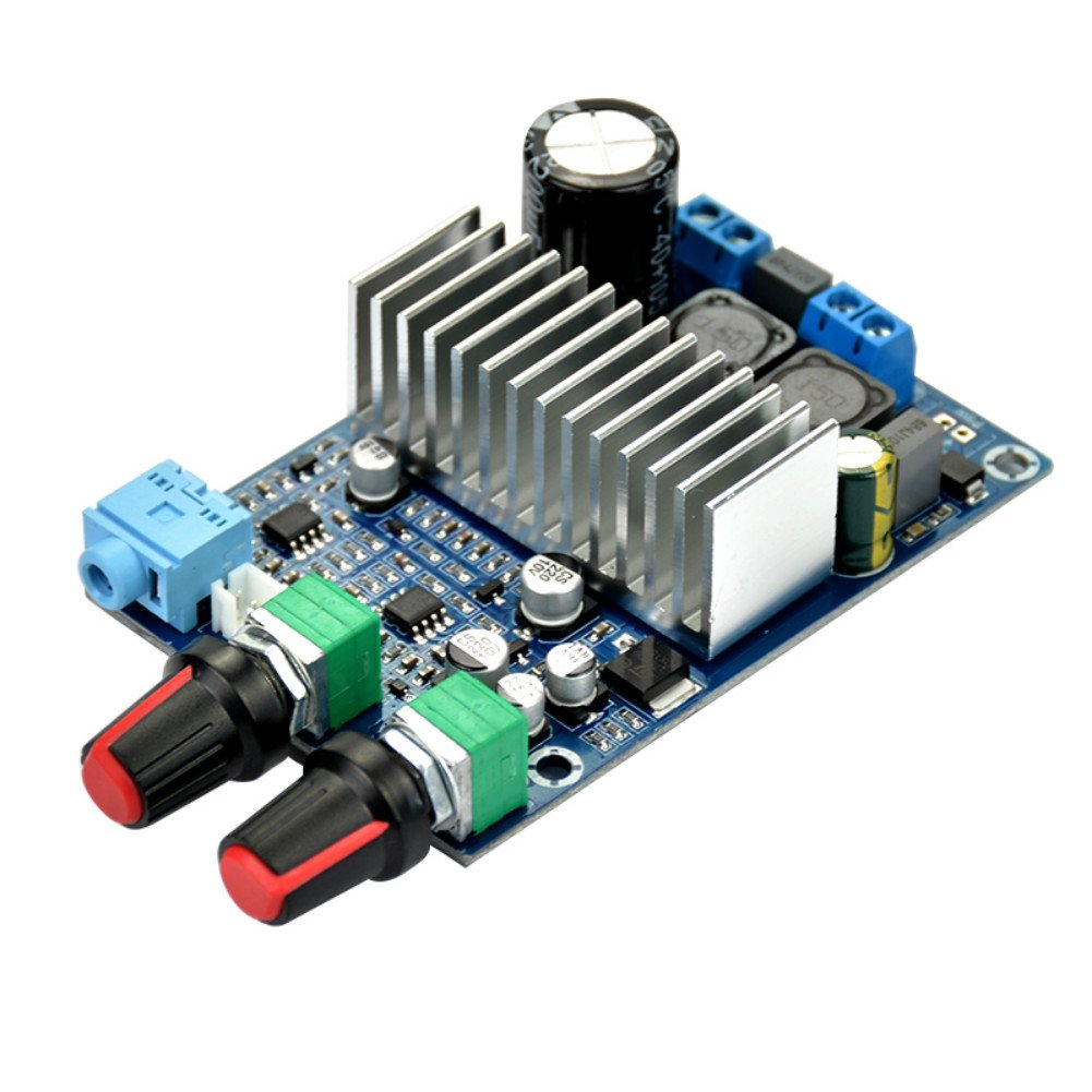 Aoshike Tpa3116 Dc 12 24v 100w Subwoofer Amplifier Board Circuit Smps Pcb Design Supplier Buy Diy Printed Support Bass Output Digital Small Power Video Audio Accessories Home