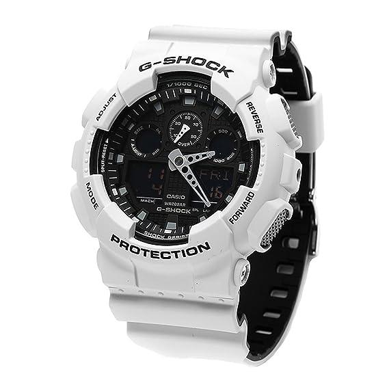 G-Shock ga-100l-7 a deporte blanco reloj