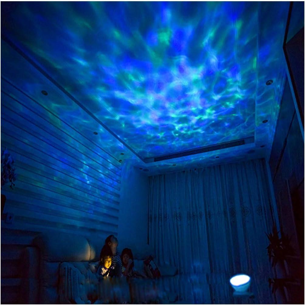 Amazon.com: Ocean Wave - Proyector LED de luz nocturna: Home ...