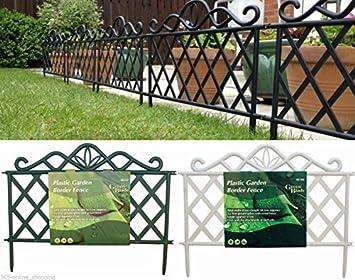 Garden Mile Dekorativ Viktorianischer Stil Garten Zaun Rasen