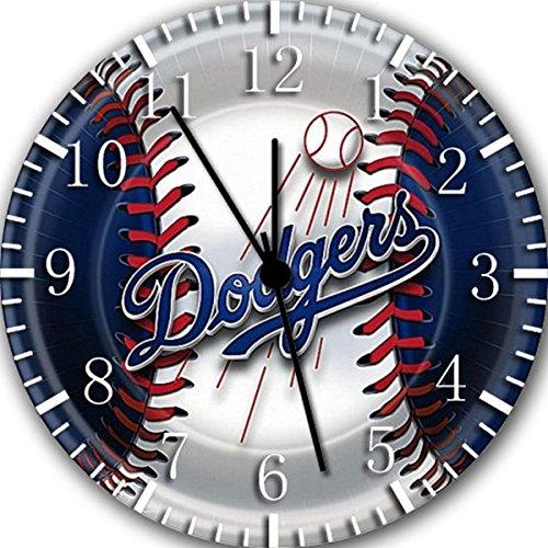 Dodgers Borderless Frameless Wall Clock E85 Nice For Decor Or Gifts ()