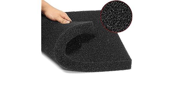... Cotton Filter Foam Sponge For Fish Tank 50x50x4cm BML Brand // acuario filtro de algodón esponja de espuma bioquímica para 50x50x4cm pecera : Baby