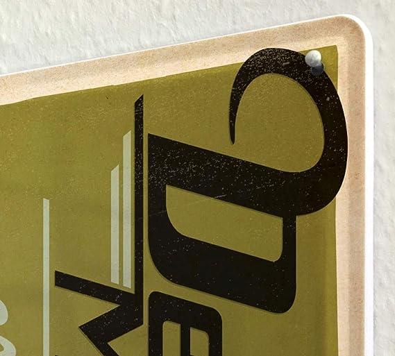 Detroit Mi Post Office Personalized Metal Sign Vintage 106180011014