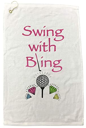 Sorprende Swing de Golf con Bling Toalla de Golf: Amazon.es ...