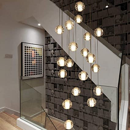 Amazon.com: CTO Lighting Chandelier Crystal Green Bstairs ...