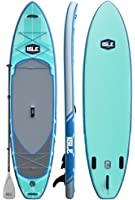 """ISLE Airtech Inflatable Explorer Stand Up Paddle Board (6"""" Thick) iSUP Package 