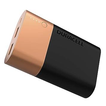 Duracell Powerbank 10.050 mAh - Cargador de batería externa para Smartphone y dispositivo USB , compatible con iPhone y Samsung