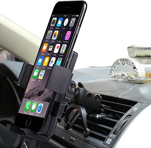 Amazon Com Car Mount Willing Fly Univeral Cell Phone Car Phone Mount Holder Cradle For Iphone 7 6s 6 5s 7 Plus Samsung Galaxy S8 S7 Edge S6 S5 Note 5 4 Nexus Htc Lg Sony More Smartphone Gps