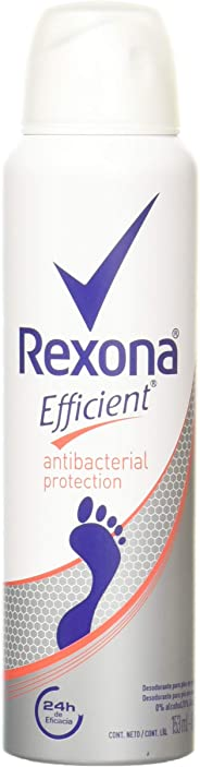 Rexona Desodorante Efficient Antibacterial en Aerosol, 153 ml
