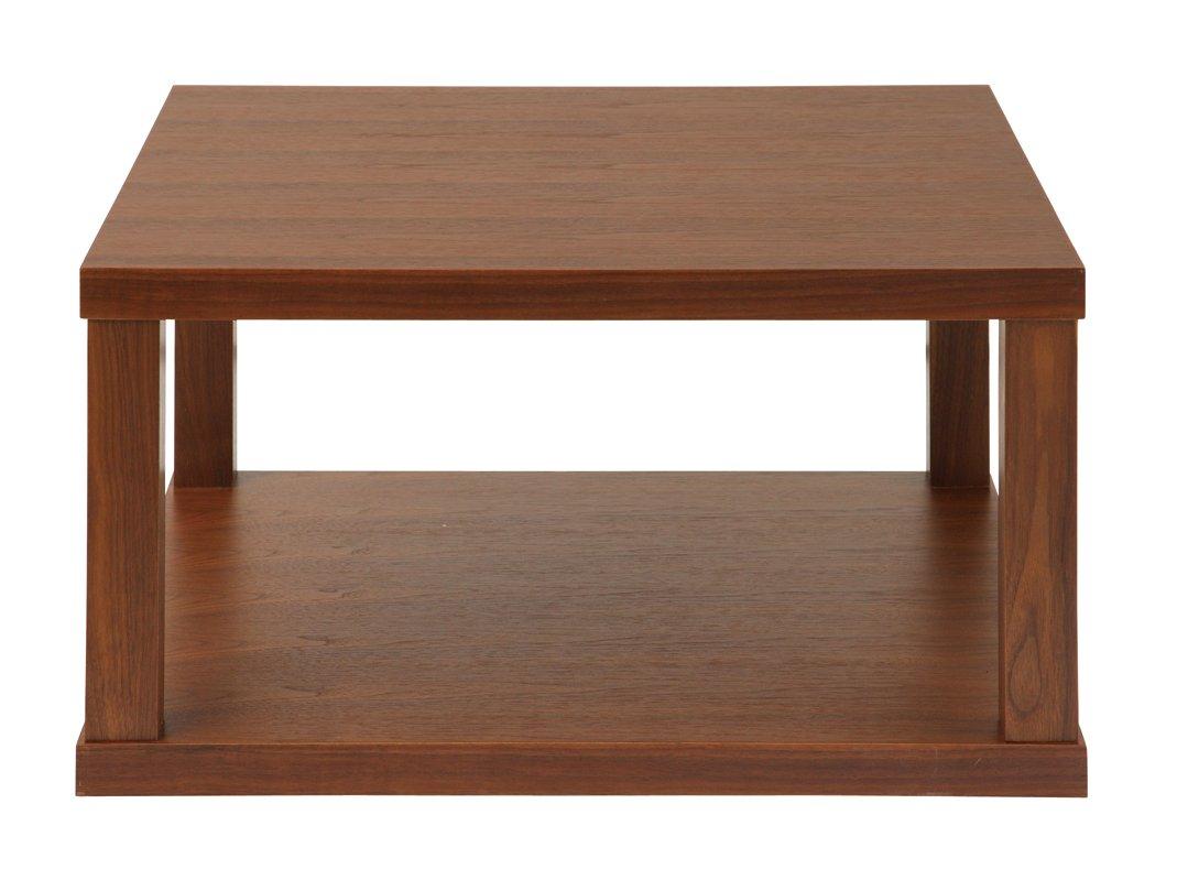 あずま工芸 エピソード センターテーブル 幅70cm ウォールナット WLT-2120 B01B1711JY ブラウン
